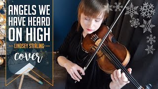 Lindsey Stirling cover | Angels We Have Heard On High (1 year 7 months violinist)