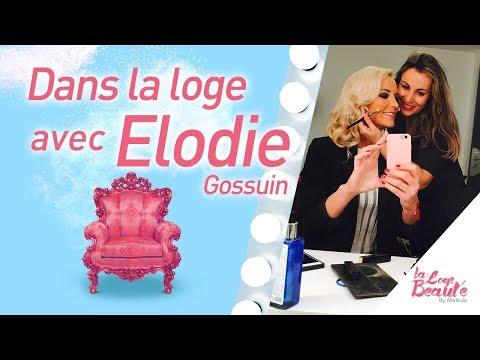 la Loge Beauté s'invite Chez Elodie Gossuin