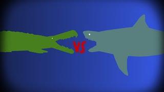 GRFC - purussaurus brasilensis vs cretoxyrhina mantelli