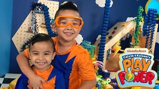 Calvin & Kaison's Play Power Nickelodeon CKN