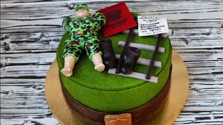 """Сборка торта """"Дембель"""""""