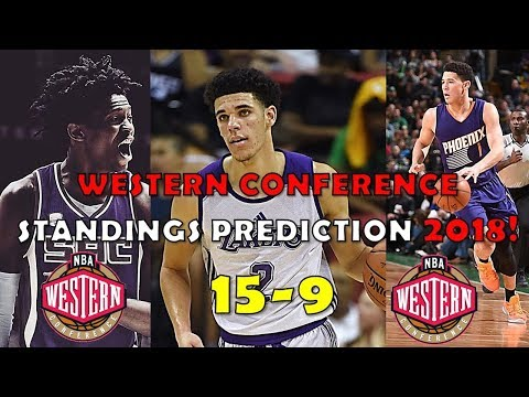 2018 Western Conference Standings Prediction (15-9)