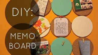 DIY: Cork Memo Board Thumbnail