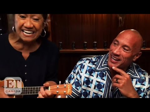 Dwayne-Johnsons-Mom-Crashes-His-'Tonight-Show-Interview-With-Adorable-Ukulele-Performance