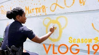 Miami Police VLOG: Police with Community: Mural on the Station Wall