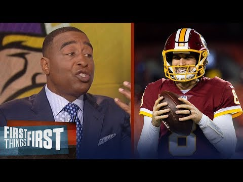 Cris Carter on why Kirk Cousins made the best choice with the Minnesota Vikings | FIRST THINGS FIRST