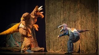 "The Dinosaur Musical ""backstage"""