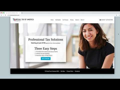 Online Tax Preparation And Filing Services - Tax Returns For Individuals - Virtual Tax of America - Видео онлайн