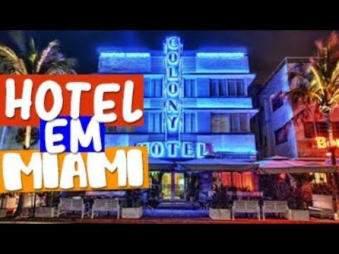 Onde se HOSPEDAR em MIAMI   THE COLONY HOTEL #14