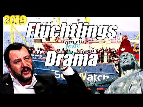 Salvini bleibt standhaft   Sea Watch 3   Flüchtlingsdrama