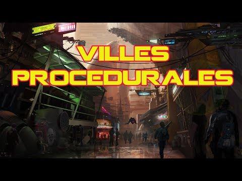 Star Citizen ATV FR - Les Villes Procédurales