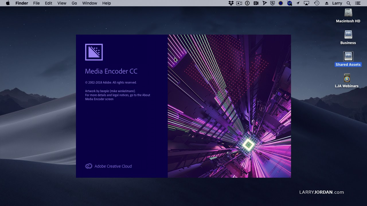 Adobe Media Encoder: Share a Watch Folder Across Multiple Computers - Larry  Jordan PowerUp #269