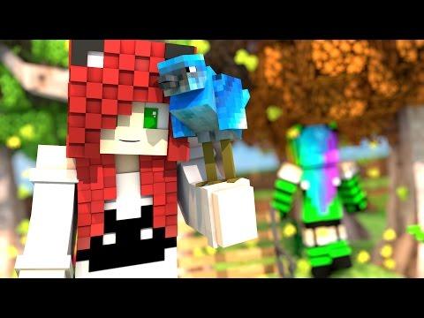 HAY UN PAJARO QUE HABLA O ESTOY LOCA? | Roleplay GirlsWorld Temp. 2 cap. 21 Serie Minecraft con mods