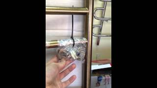Полотенцесушитель галант 800х600 бронза(Любительское видео водяного полотенцесушителя Галант размером 800 на 500 мм в цвете