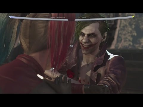 Injustice 2 - The Joker All Clash Quotes! (Complete)