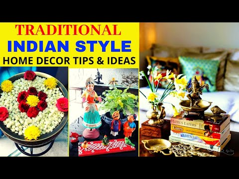 Traditional Indian Style Home Decoration Tips And Ideas | Indian Decor | Brass Decor | Home Tour