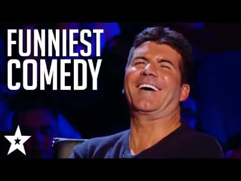 TOP 5 COMEDIANS on Britain's Got Talent! Try Not To Laugh! | Got Talent Global