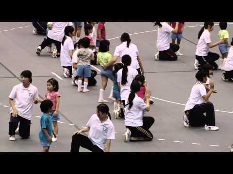 「オリンピックが来たら・・・」〜日体幼稚園〜日本体育大学第51回体育研究発表実演会