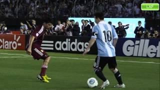 Messi - Sube la mano y grita gol!