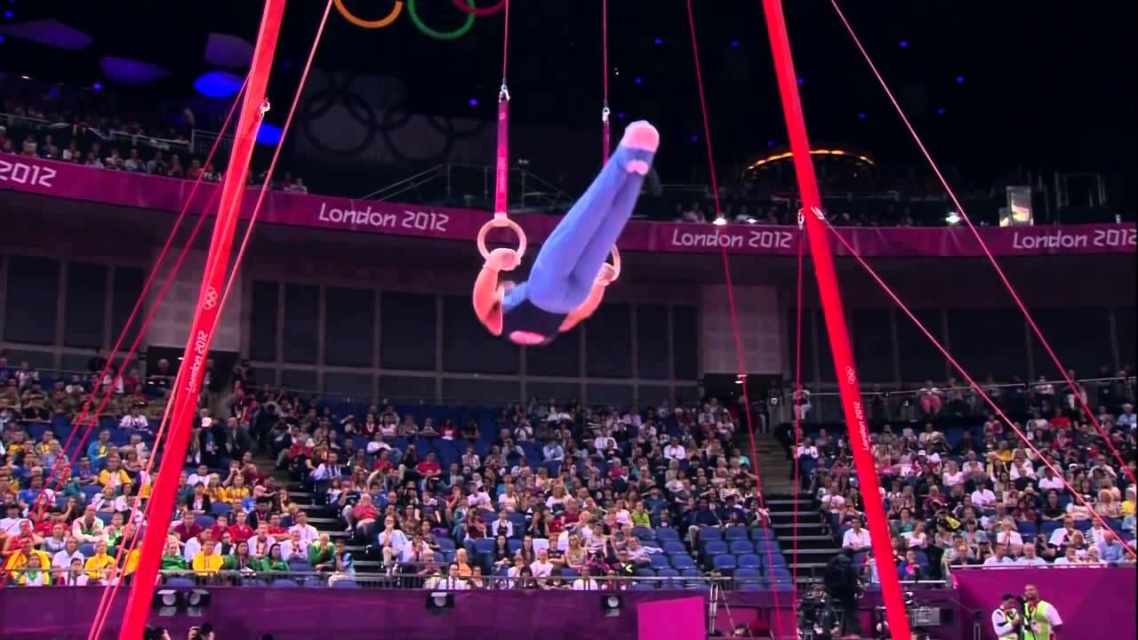Federico Molinari(ARG) Final Anillas .Juegos Olímpicos Londres 2012