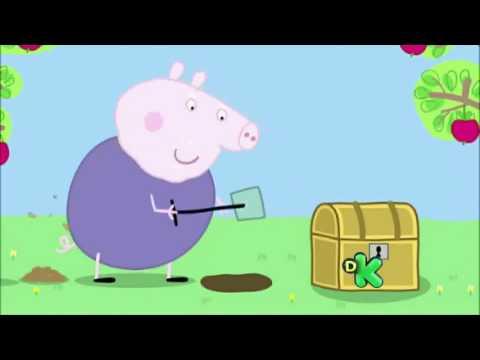 Peppa Pig Episódios Completos: Soltando Pipa Caça ao tesouro