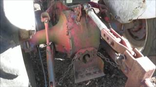 Repairing the PTO Shaft on the  Ford 800 tractor