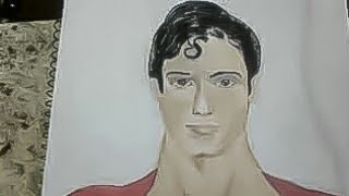 Superman desenho realista