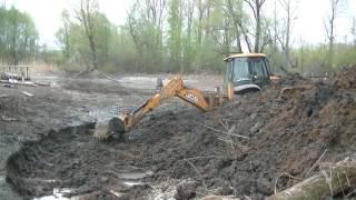 Очистка пруда Четвертый день работы