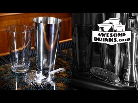 Using a Boston Shaker -- Essential Bar Tools | Lesson 03