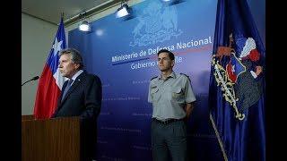 DECLARACIÓN DEL MINISTRO DE DEFENSA, SOBRE EL NUEVO ALTO MANDO DEL EJÉRCITO DE CHILE