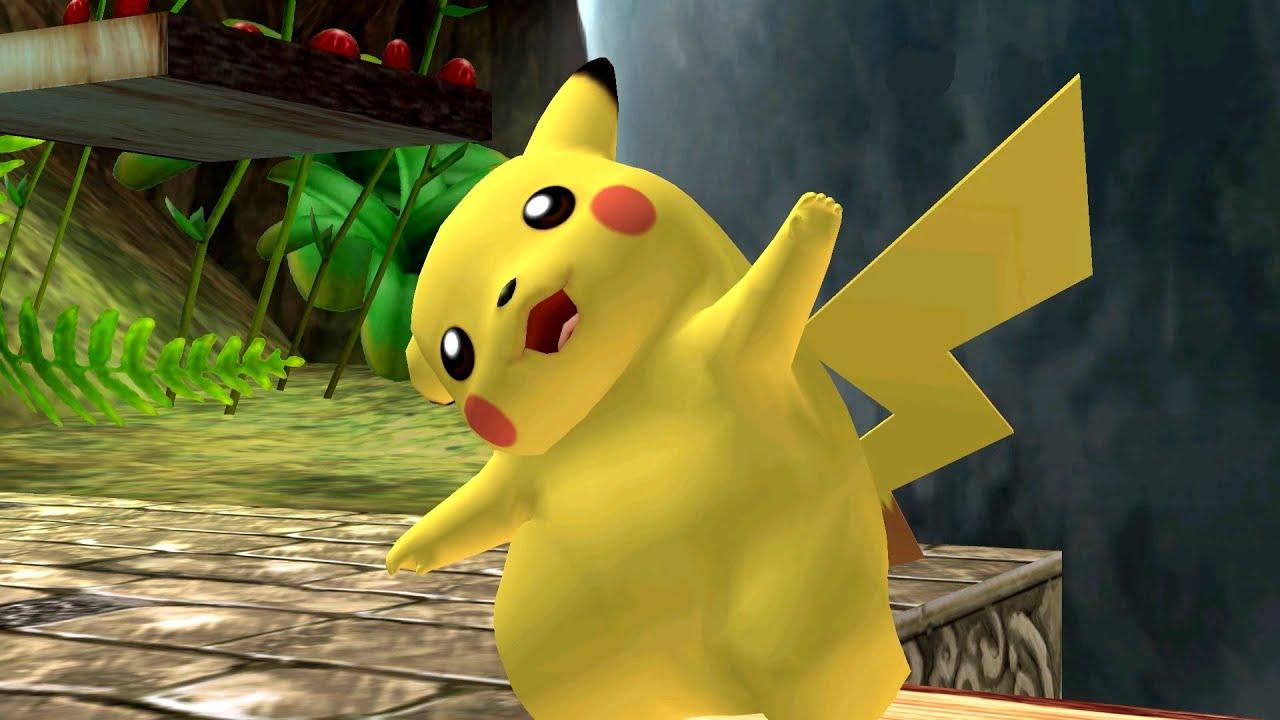 Pokemon Wallpaper Hd 3d Super Smash Bros Brawl Pikachu Pokemon Battle