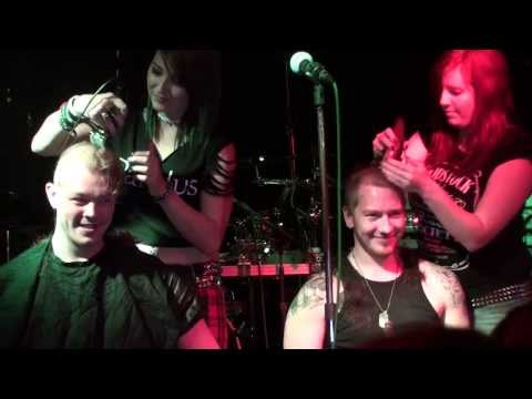 Elysium Charity Gig - Head Shave