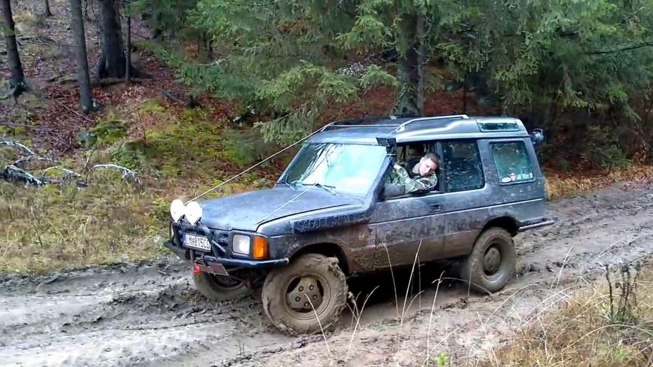 Land Rover Discovery 200tdi Offroadliptov Mov 1185 Youtube