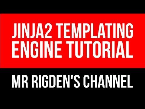 Jinja2 Templating Engine Tutorial