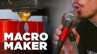 Macro Maker // Mic Holder on the Sovol SV01 3D Printer