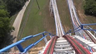 Great American Scream Machine (On-Ride) Six Flags Over Georgia