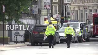 England  Police presence high near London Bridge after terror attack
