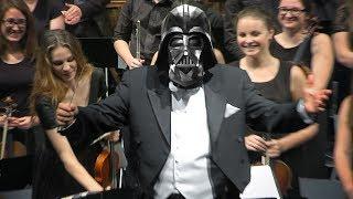 Download Jedi Orchestra plays Star Wars Main Theme. Conducted by Andrzej Kucybała Teatr Wielki Opera Narodowa