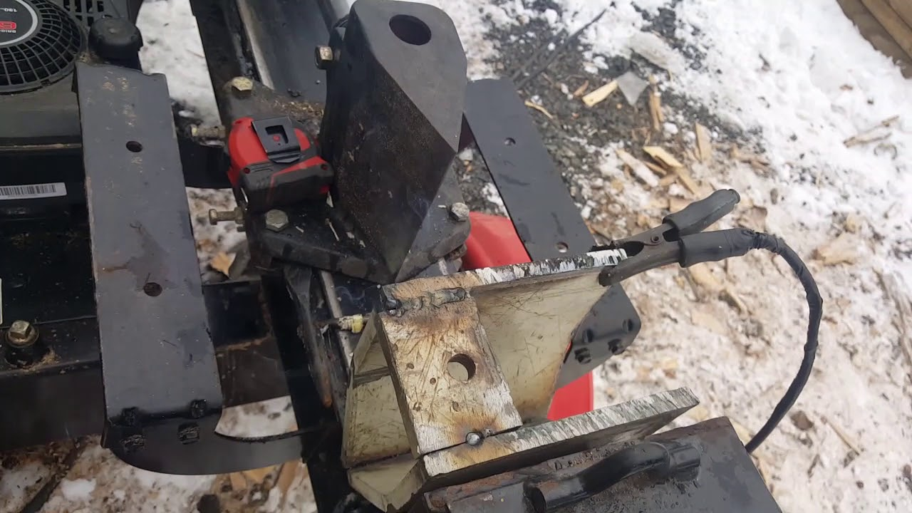 Timberline 4 Way Wood Splitter Wedge Attachment   Wooden Thing