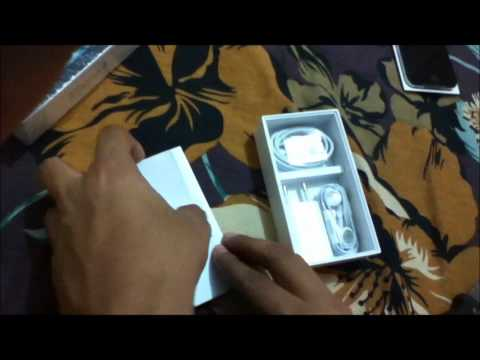 Iphone 4 unboxing (India)