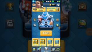 -I'M A LUMBERJACK IN SILVER CHEST OF OPENING CHESTS OF CLASH ROYALE