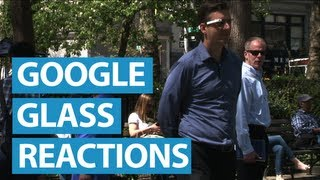 new yorkers react to google glass   mashable
