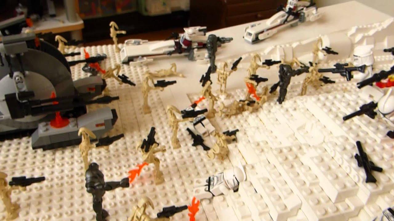 レゴ スターウォーズ ジオラマ 寒帯での戦い
