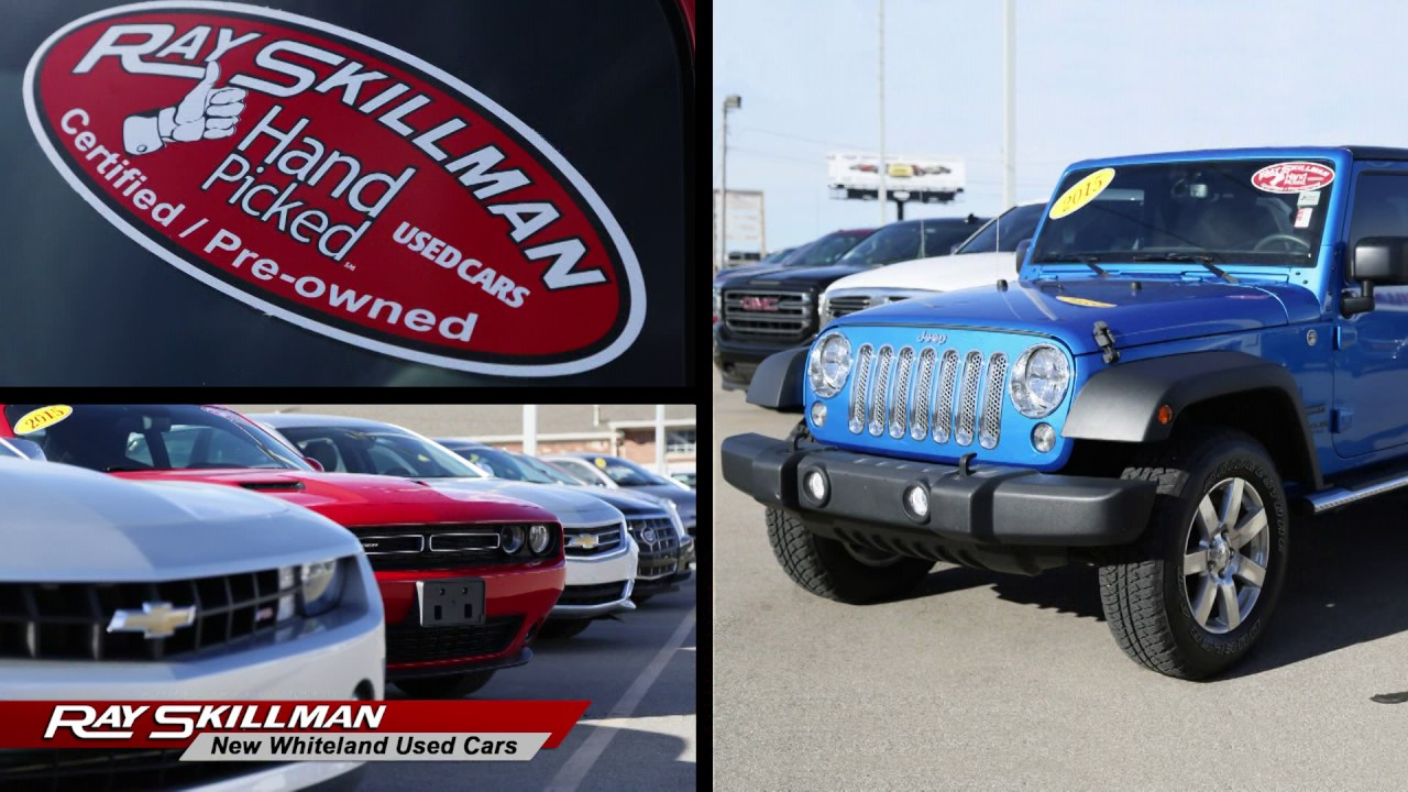 Ray Skillman Used Cars >> Get the Car Perfect For You| Ray Skillman New Whiteland Used Cars - YouTube