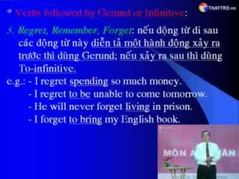 Bài 13: Danh động từ - Gerund