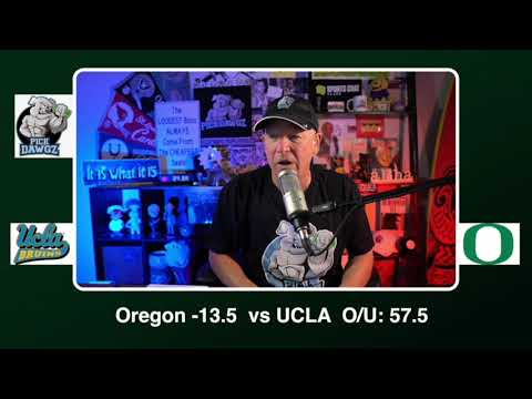 Oregon vs UCLA 11/21/20 Free College Football Picks and Predictions CFB Tips Pick Dawgz