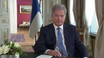 Tasavallan Presidentin uudenvuoden puhe 1.1.2020