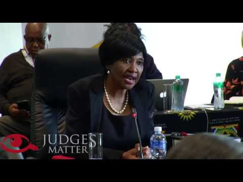 JSC interview of Judge Y T Mbatha for the Supreme Court of Appeal (Judges Matter)