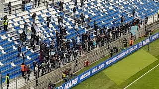 Sassuolo-Lazio 0-3, il saluto dei biancocelesti ai tifosi