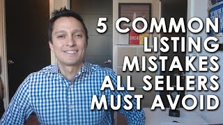Seattle Real Estate | Maynard Wagner Real Estate Group: Don't Make These Mistakes When Selling